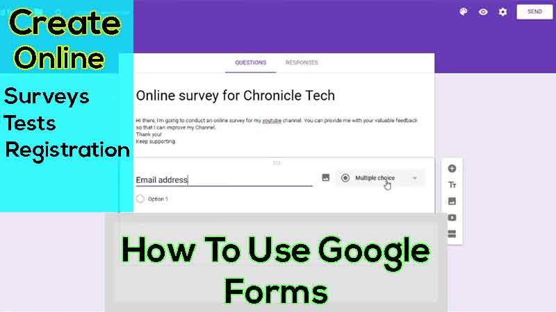 What Is Google Forms 2018 And How To Use Google Forms Meet Noor